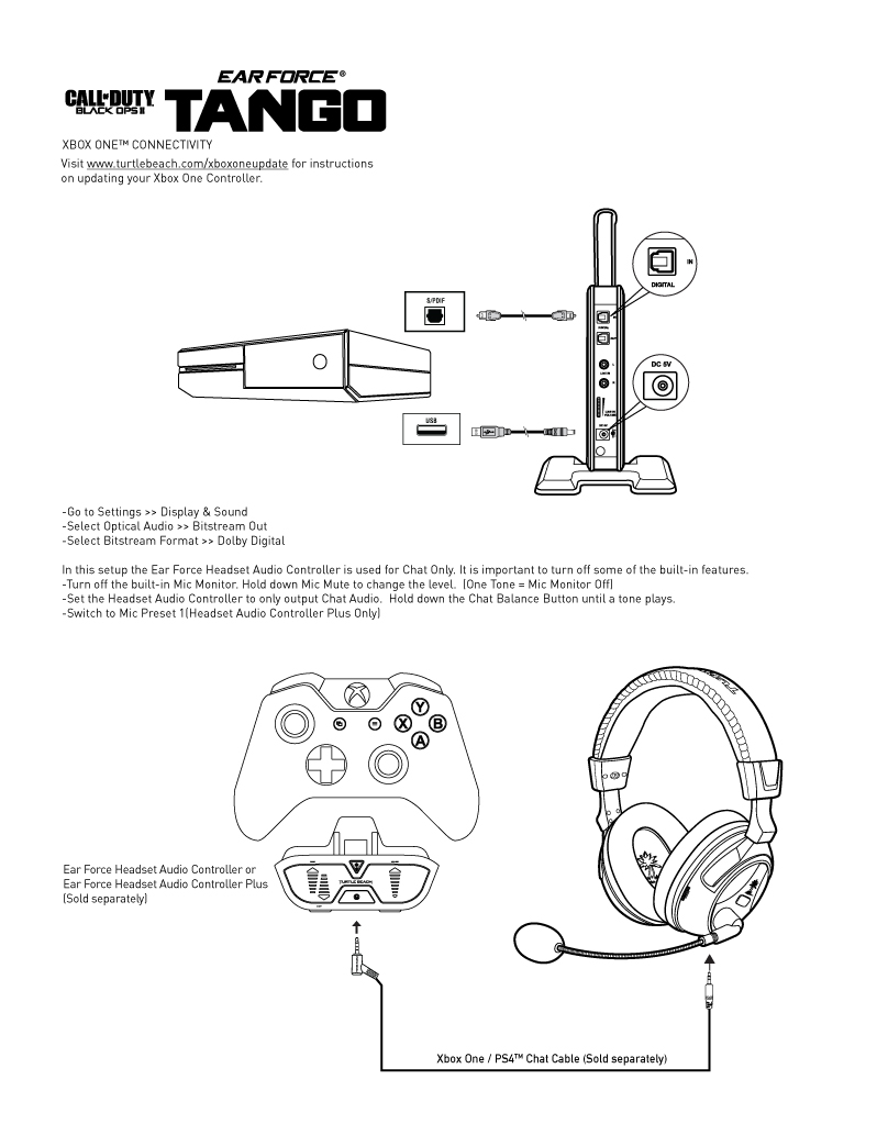 Tango_Xbox One Setup_Diagram tango xbox one setup diagram turtle beach xbox one headset wiring diagram at gsmx.co